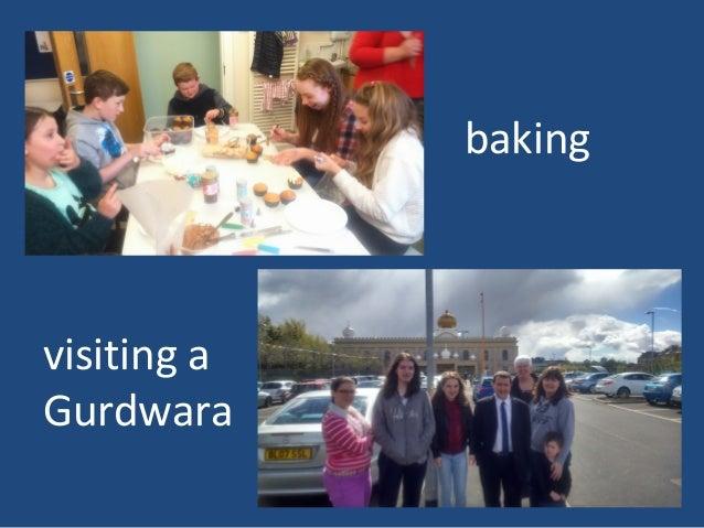 baking visiting a Gurdwara
