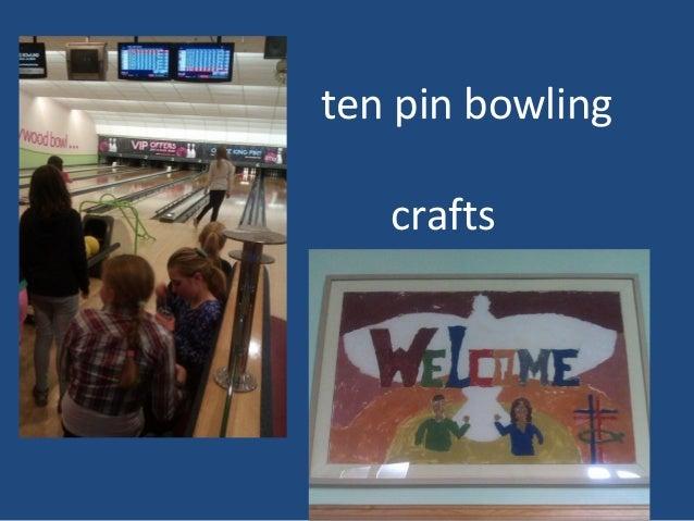 ten pin bowling crafts