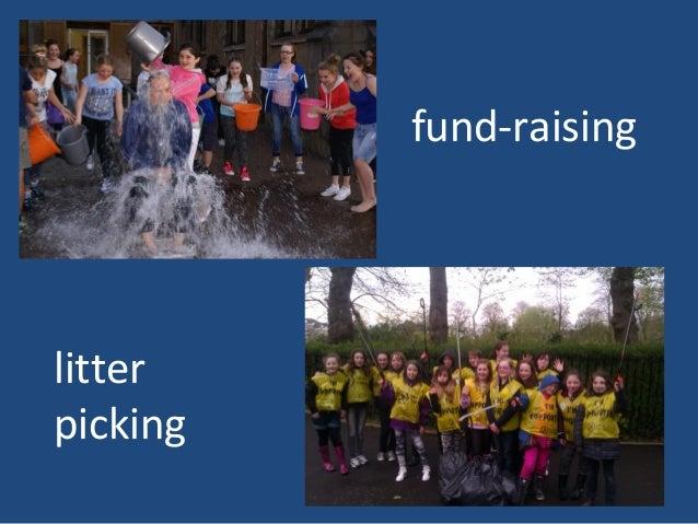 fund-raising litter picking