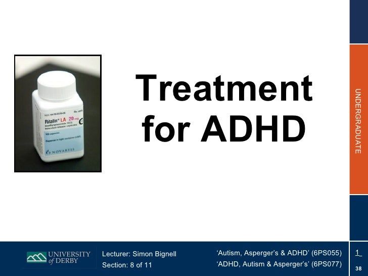 Section 8 - Treatment for ADHD