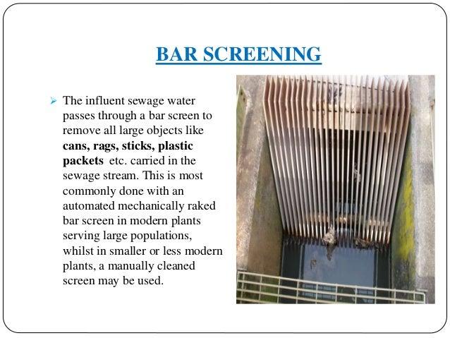 design of screen chamber pdf