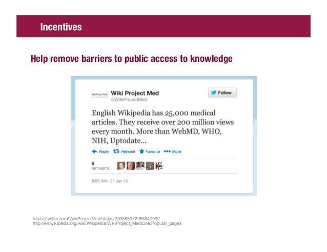 Design policy to support (scholarly) open knowledgeDario,Representative                                                   ...