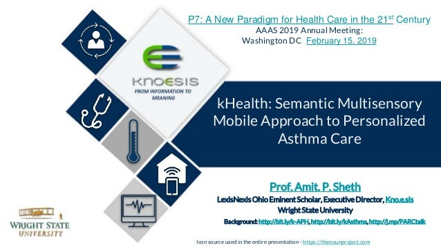 Prof. Amit. P. Sheth LexisNexisOhioEminentScholar, ExecutiveDirector, Kno.e.sis WrightStateUniversity Background: http://b...