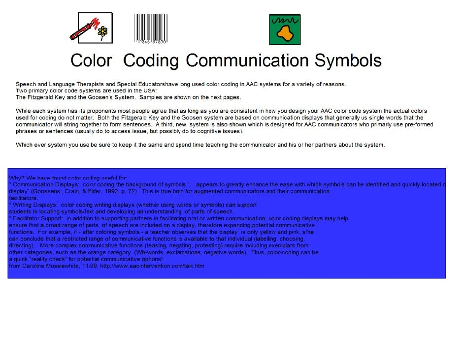 Aac Color Coding