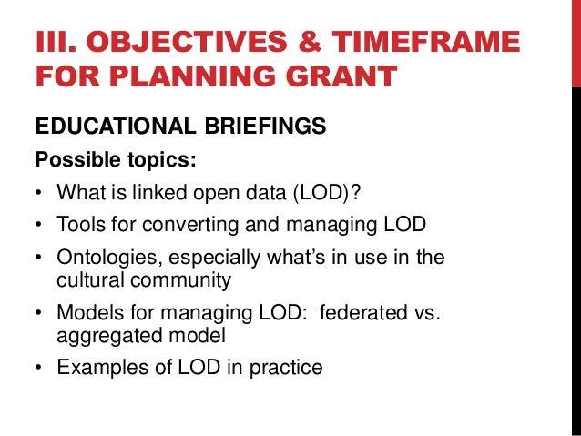 American Arts Collaborative Grant Planning