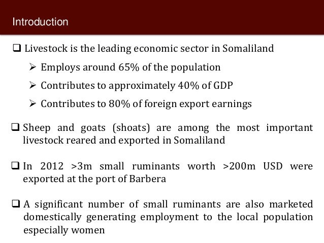 Knowledge of livestock grading and market participation among small ruminant producers in northern Somalia  Slide 2