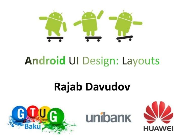 Rajab Davudov