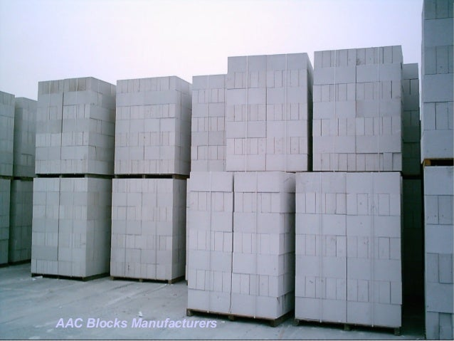 Autoclaved Aerated Concrete : Aac autoclaved aerated concrete blocks