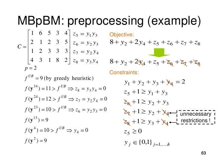 p-Median Cluster Analysis Based on General-Purpose Solvers (2)