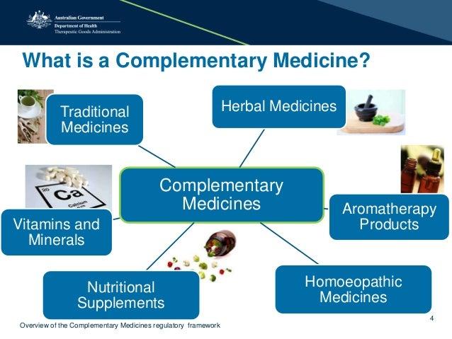 Complementary Medicines Regulatory Framework