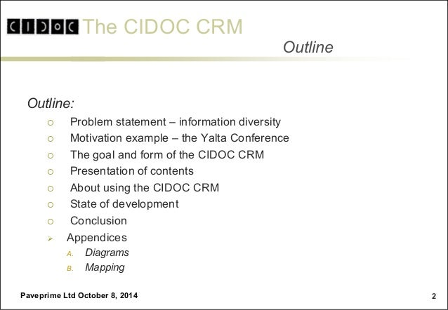 The CIDOC CRM Family and LOD Slide 2