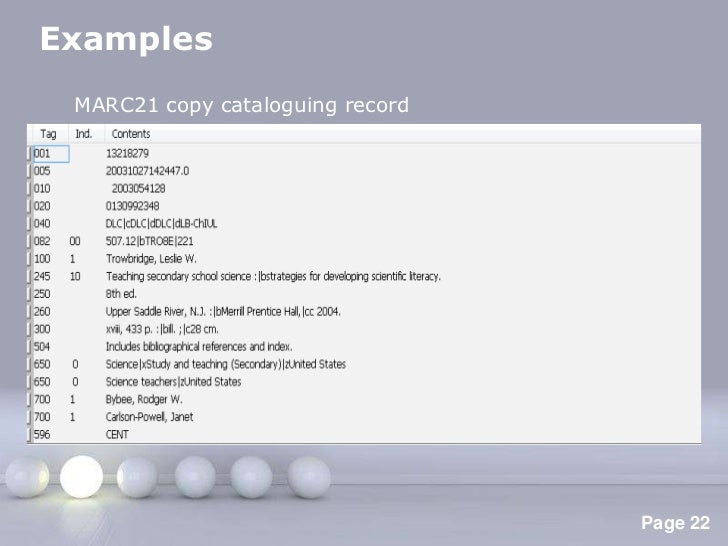 Anglo American Cataloging Rules 2nd Ed Aacr2