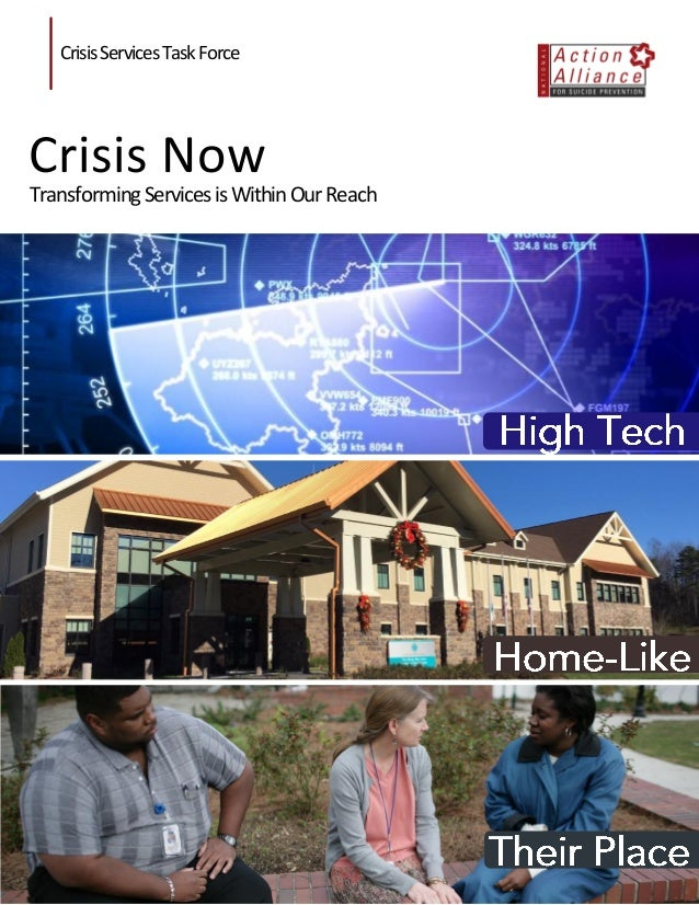 Crisis Now: Transforming Services is Within Our Reach i Crisis Now: Transforming Services is Within Our Reach Lorem Ipsum ...