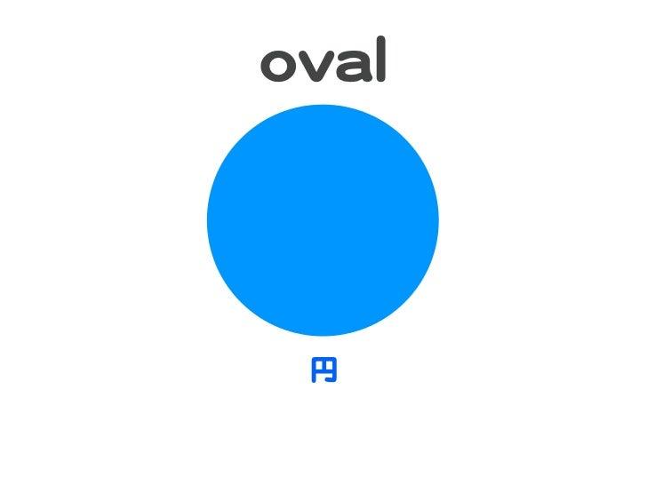 oovvaall   円