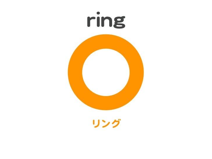 rriinnggリング