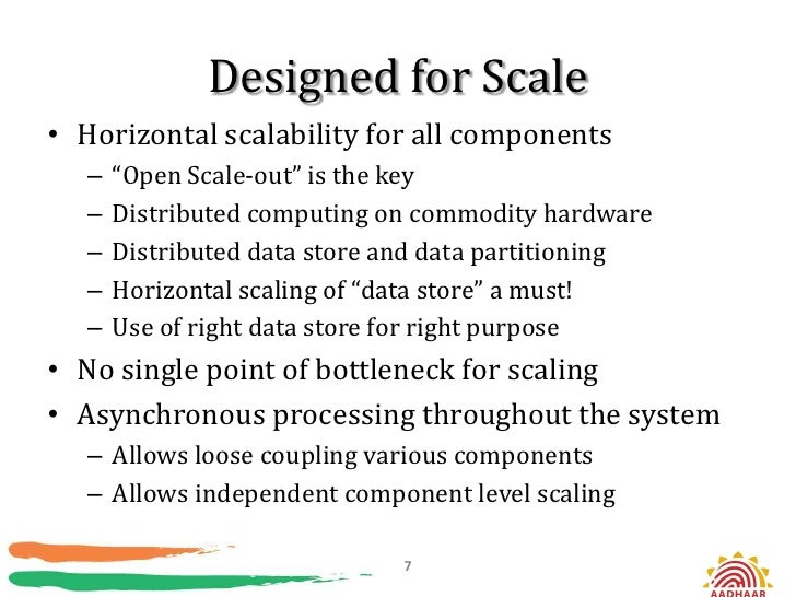 """Designed for Scale• Horizontal scalability for all components   –   """"Open Scale-out"""" is the key   –   Distributed computin..."""
