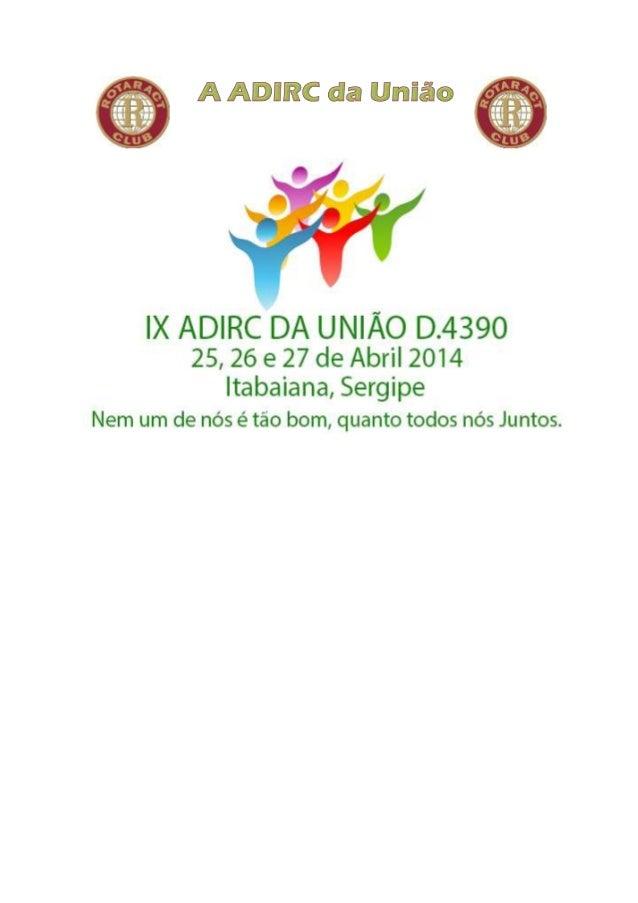 ROTARACT CLUB: CONCEITO: Organização Mundial fundada pelo Rotary internacional em 1968, nos Estados Unidos, com o objetivo...
