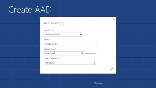 AAD with MVC App Slide 2