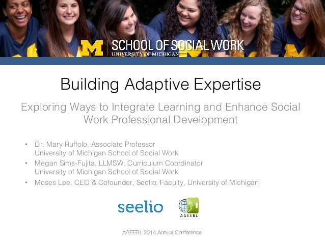 AAEEBL 2014 Annual Conference Exploring Ways to Integrate Learning and Enhance Social Work Professional Development! Build...