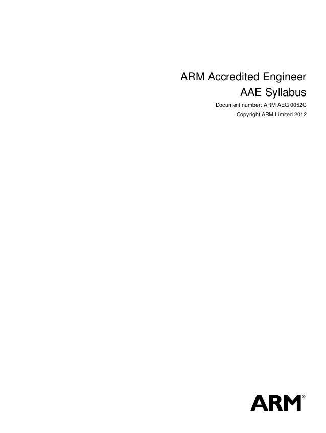 Arm Certification Examination For Bridging