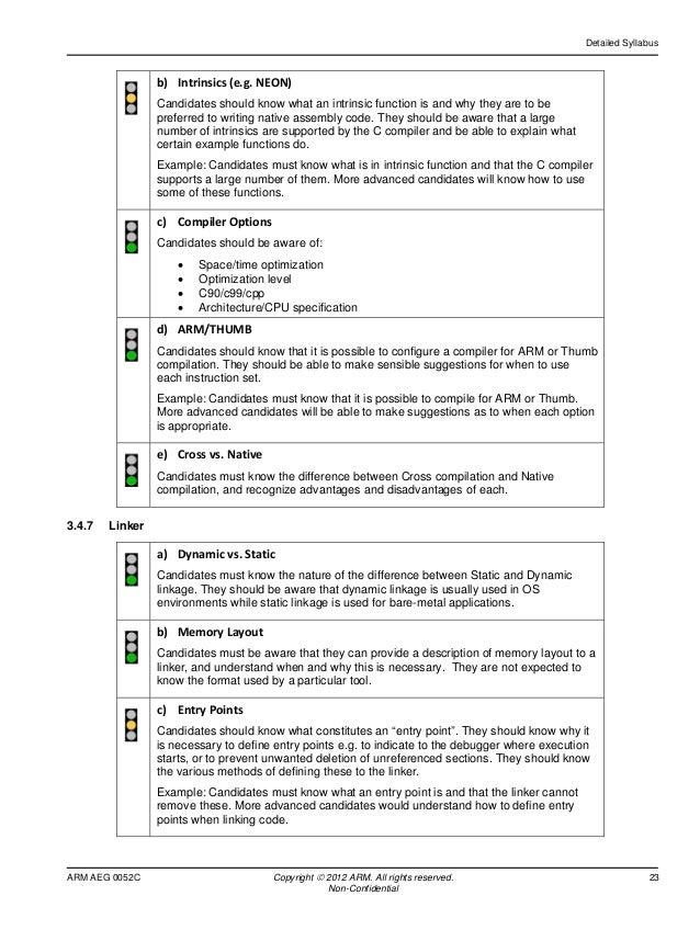 Arm certification examination for bridging arm aeg 0052c non confidential 23 altavistaventures Images