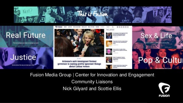 Fusion Media Group | Center for Innovation and Engagement Community Liaisons Nick Gilyard and Scottie Ellis