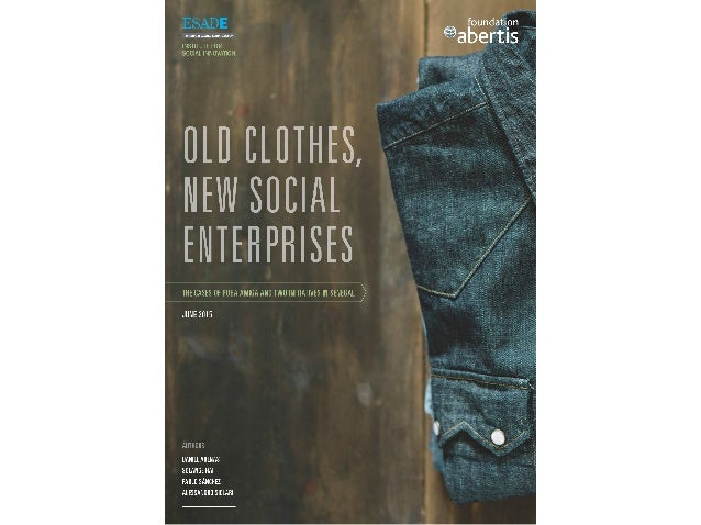 part one 04 challenges facing the textile waste sector and the role of social entrepreneurs part two 08 Roba Amiga: One br...