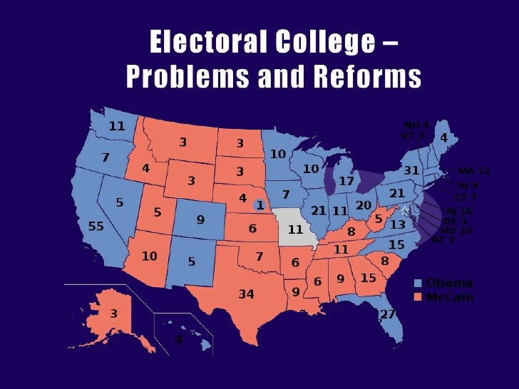 Electoral College – Problems and Reforms<br />