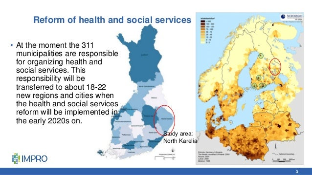Reform of health and social services • At the moment the 311 municipalities are responsible for organizing health and soci...