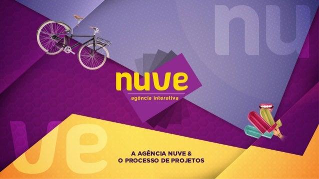 A AGÊNCIA NUVE & O PROCESSO DE PROJETOS