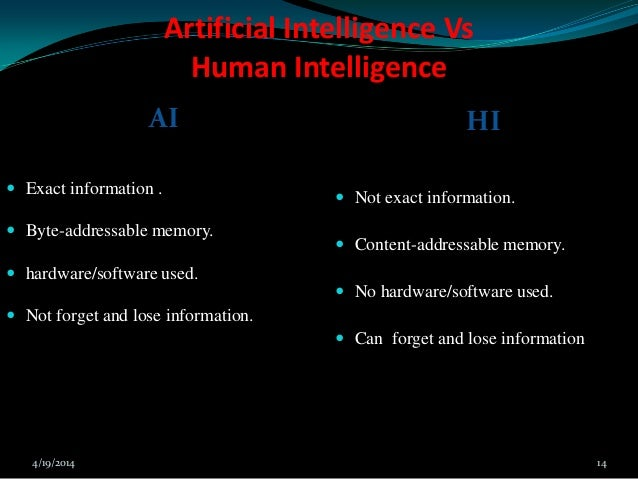 presentation on Artificial intelligence by prince kumar ... Types Of Human Communication