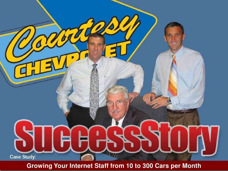 Growing Your Internet Staff from 10 to 300 Cars per Month