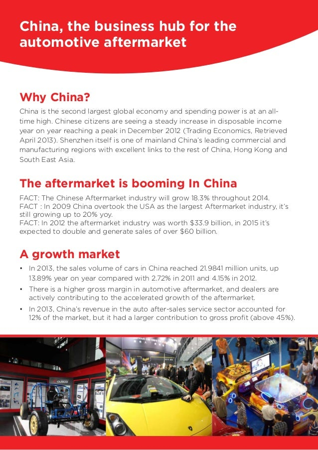 Why China? China is the second largest global economy and spending power is at an all- time high. Chinese citizens are see...