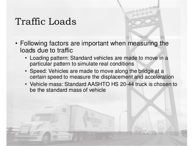 Vibration of bridge structures induced by traffic loads