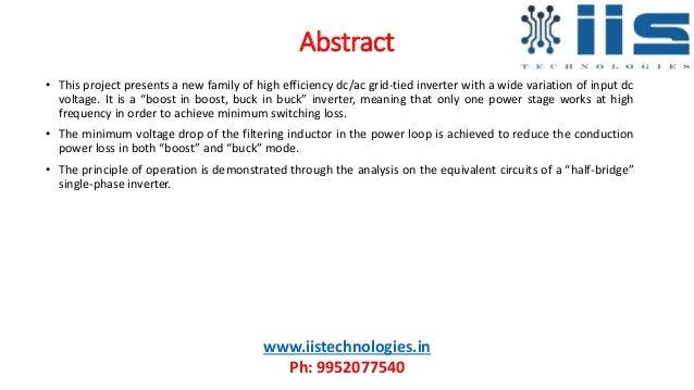 "Aalborg Inverter—A New Type of ""Buck in Buck, Boost in Boost"" Grid-Tied Inverter Slide 2"