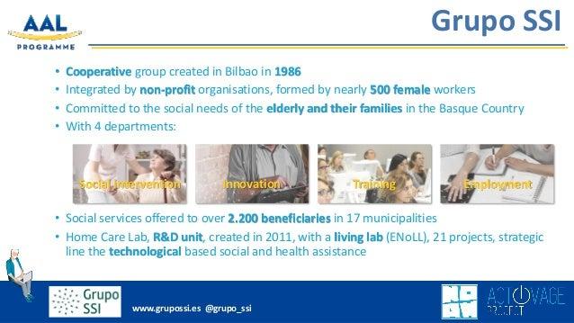 Presentación empleada por Itziar Álvarez - Grupo SSI en el AAL Forum 2018 Biscay, celebrado del 24 al 26 de septiembre de 2018 en Bilbao. Slide 2