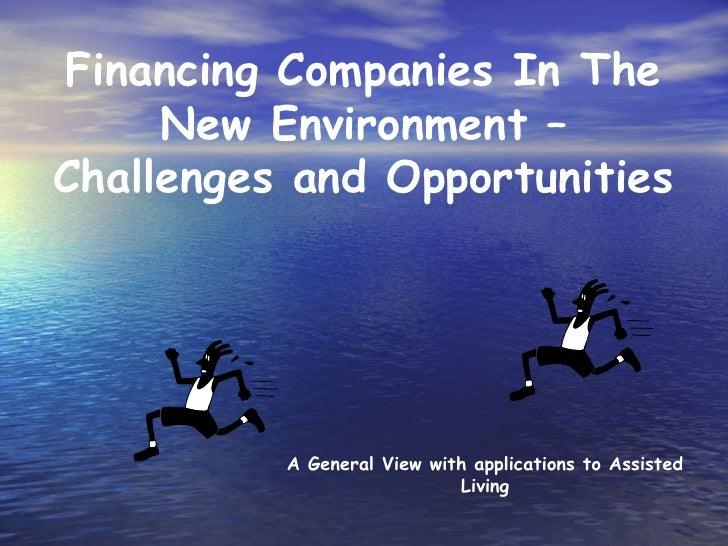 AAL Investment Forum 2010 - Financing companies in the new environment – challenges and opportunities