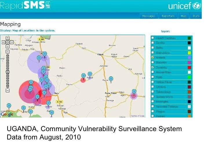 UGANDA, Community Vulnerability Surveillance System Data from August, 2010