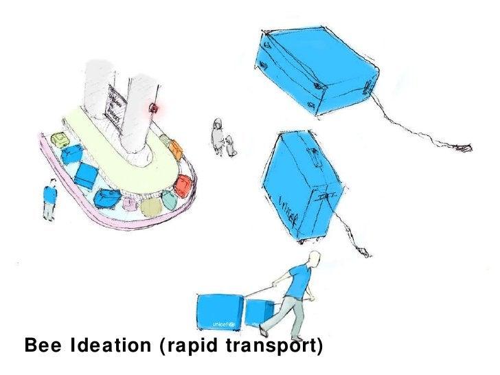 Bee Ideation (rapid transport)