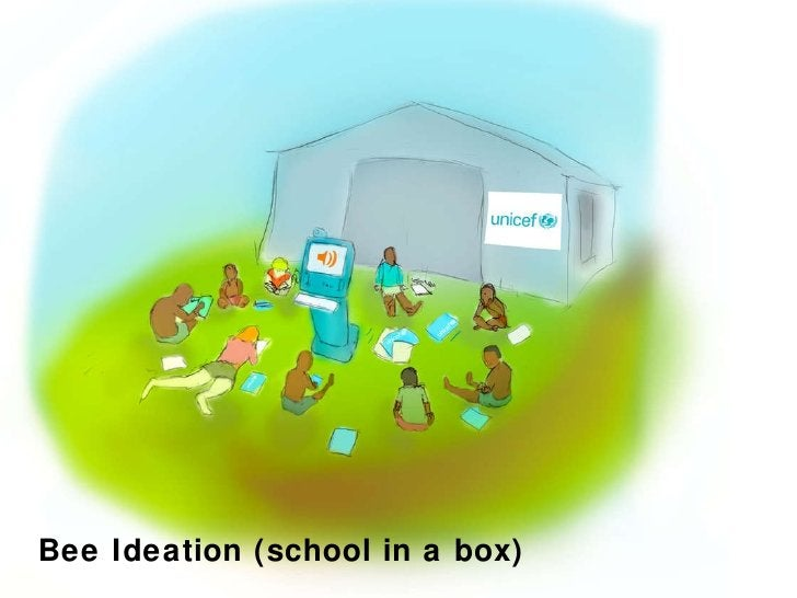 Bee Ideation (school in a box)