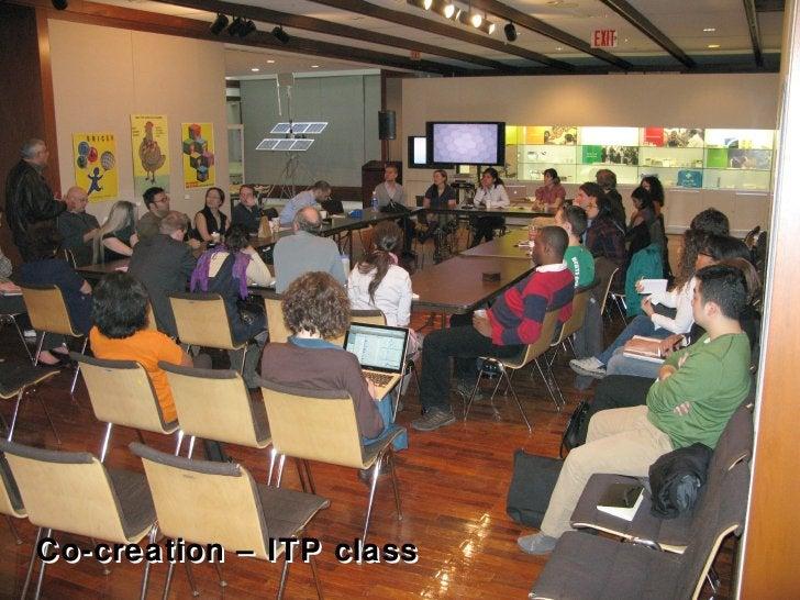 Co-creation – ITP class Co-creation – ITP class