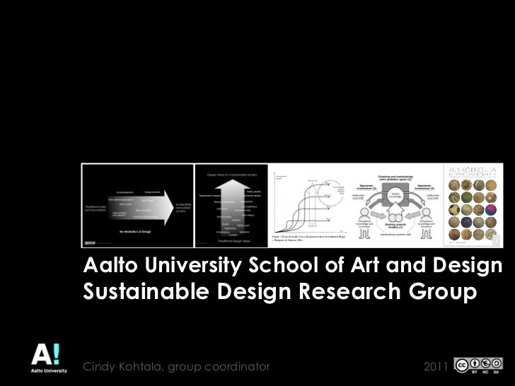 SUSTAINABLE INNOVATION AND THE                  ISSUE OF SCALE                  PEKKA MURTO                  AALTO UNIVERS...