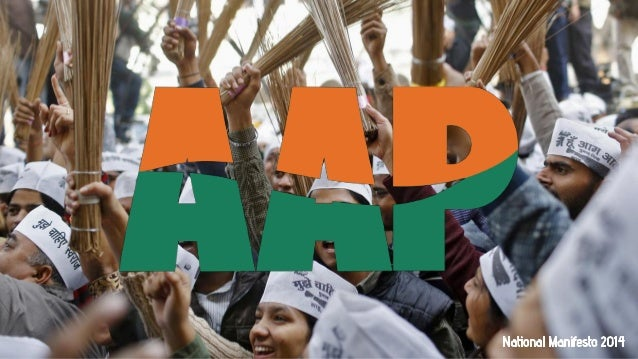 Aam Aadmi Party National Manifesto 2014