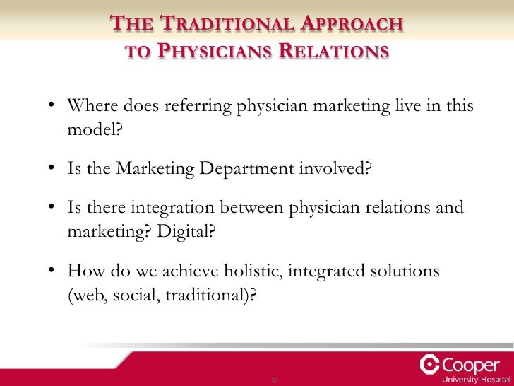 Marketing to referring physicians aamc presentation 2012 altavistaventures Images