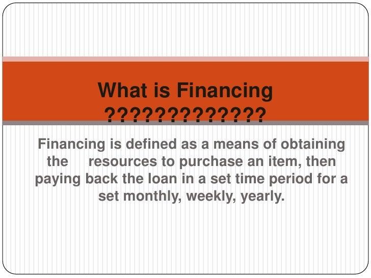 definition of short term finance