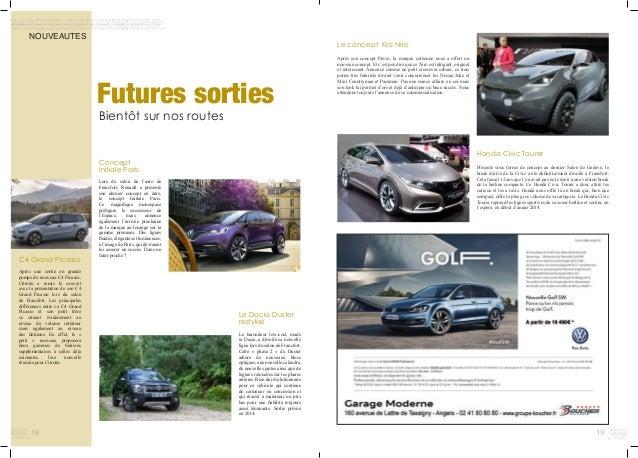 18 Honda Civic Tourer Présenté sous forme de concept au dernier Salon de Genève, le break dérivé de la Civic a été définit...