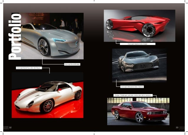 Portfolio Concept Kode9 au salon de Tokyo Concept Buick Riviera Concept Mazda Auto Adapt Concept Mercedes Gran Turismo Dod...