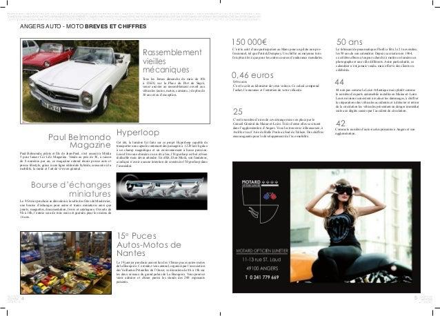 4 5 150 000€ ANGERS AUTO - MOTO BREVES ET CHIFFRES C'est le coût d'une participation au Mans pour un pilote non pro- fessi...
