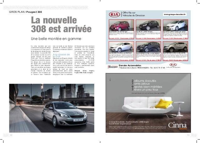 12 GROS PLAN / Peugeot 308 La crise traversée par nos constructeurs français les oblige à se surpasser et à faire preuve ...