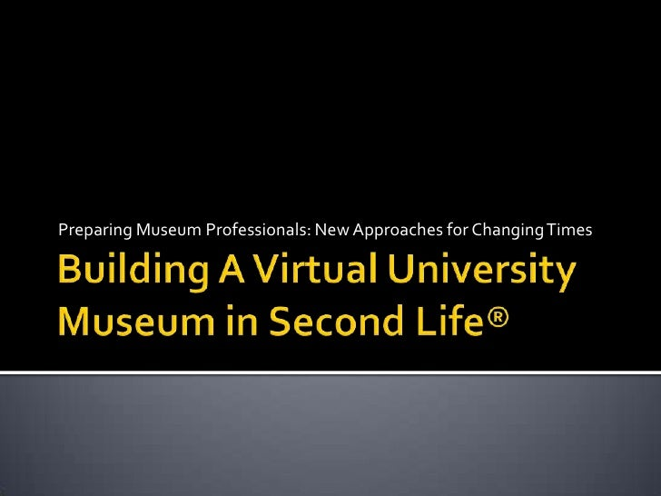 Preparing Museum Professionals: New Approaches for Changing Times
